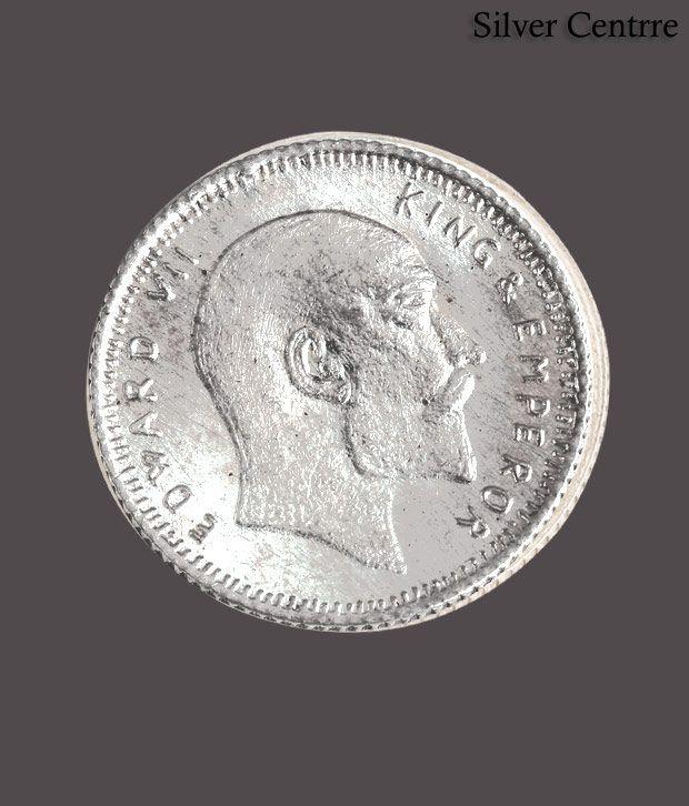 Silver Centrre King & Emperor Edward VII Silver Coin - SC 108