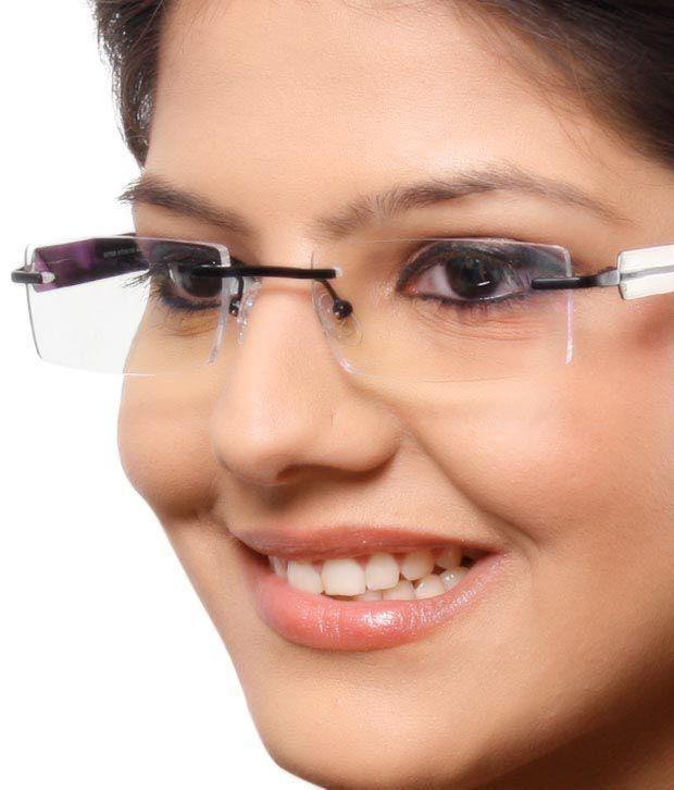 Extro Sturdy Black Rimless Eyewear - Buy Extro Sturdy ...