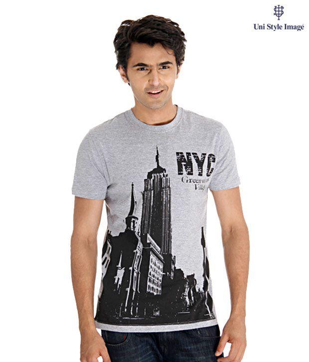 USI Grey T-Shirt