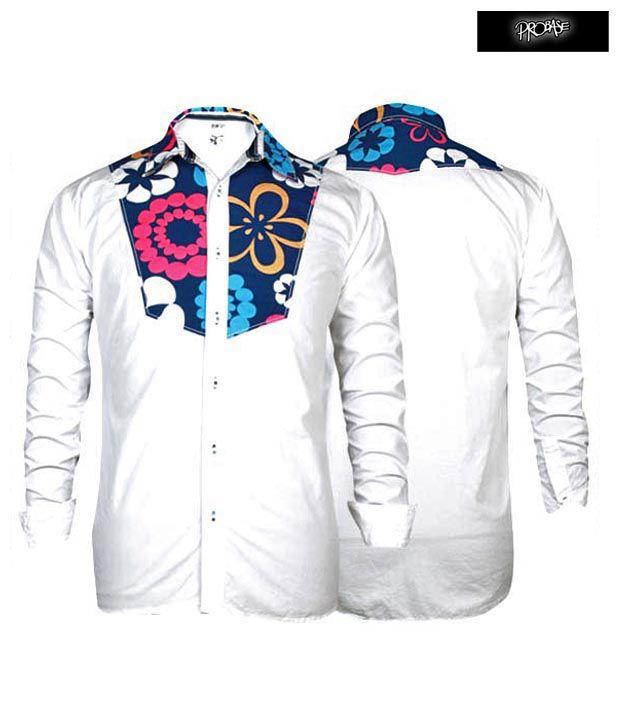 PROBASE Shirt 11PSH24400-WH-LS