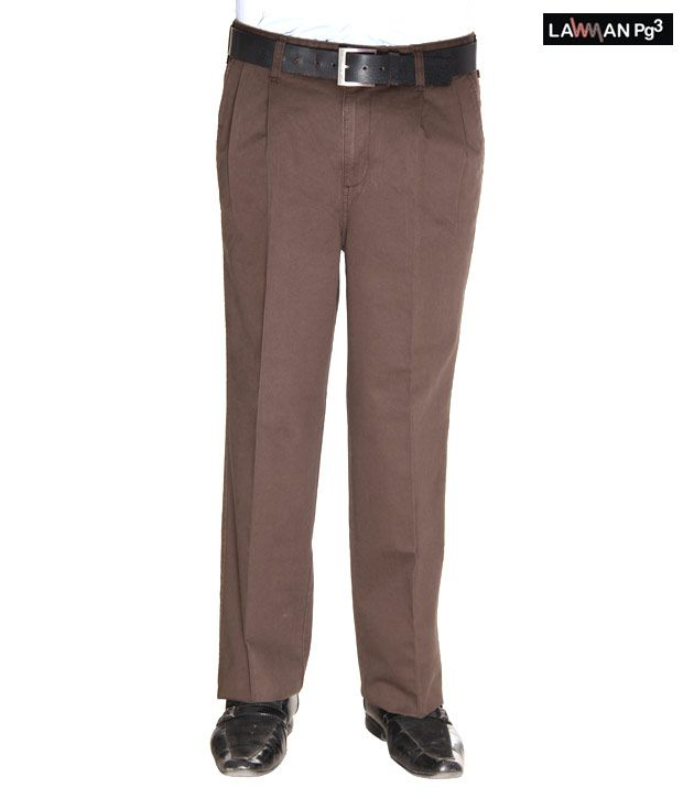 Lawman Brown Trousers