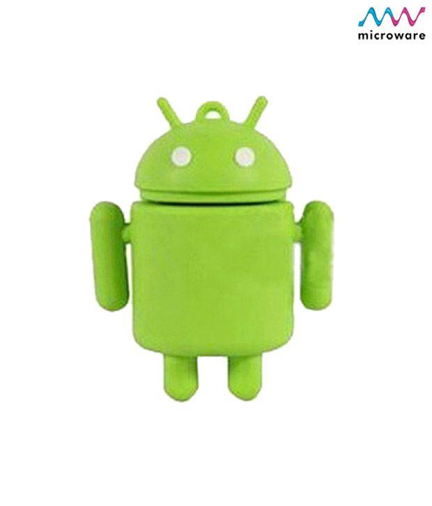 Microware Android Shape Designer 4 GB Pendrive