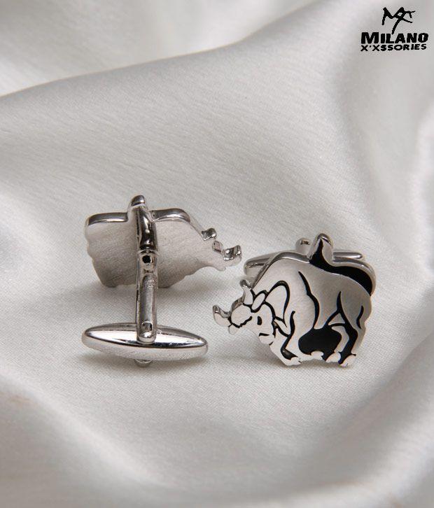 Milano X'xssories Shining Taurus Cufflinks