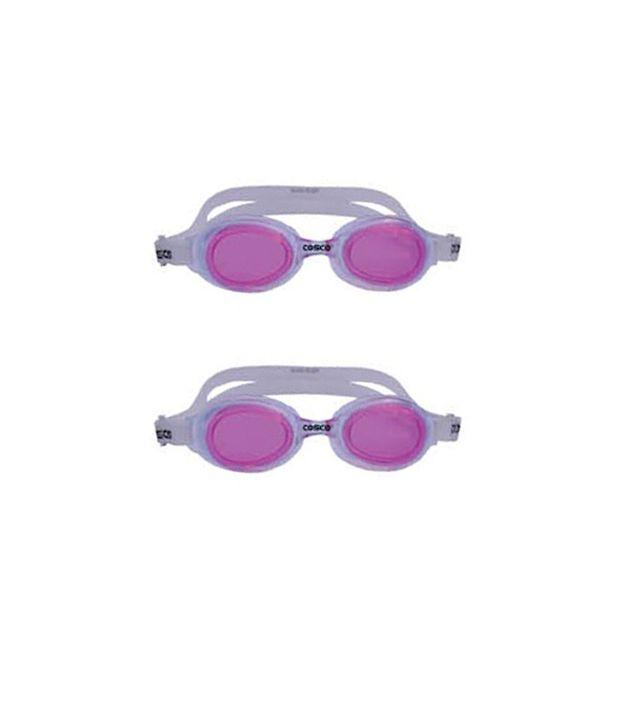 COSCO AQUA WAVE Swimming Goggles (Pack of 2)
