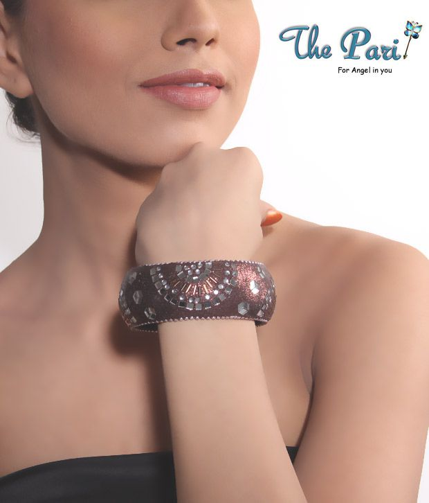 Pari Brown Lac Bangle