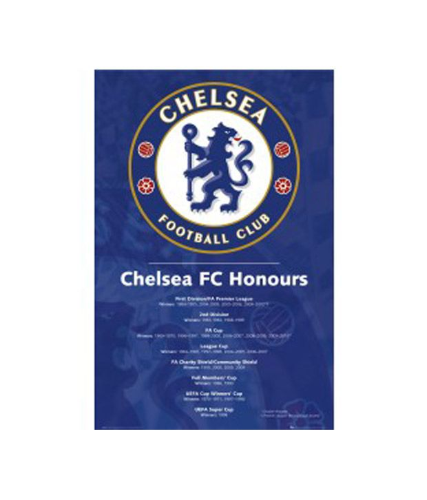 Chelsea (Honours2010) (24 x 36 Inches)