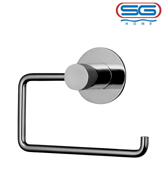 buy sg stainless steel toilet paper holder online at low price in india sna. Black Bedroom Furniture Sets. Home Design Ideas