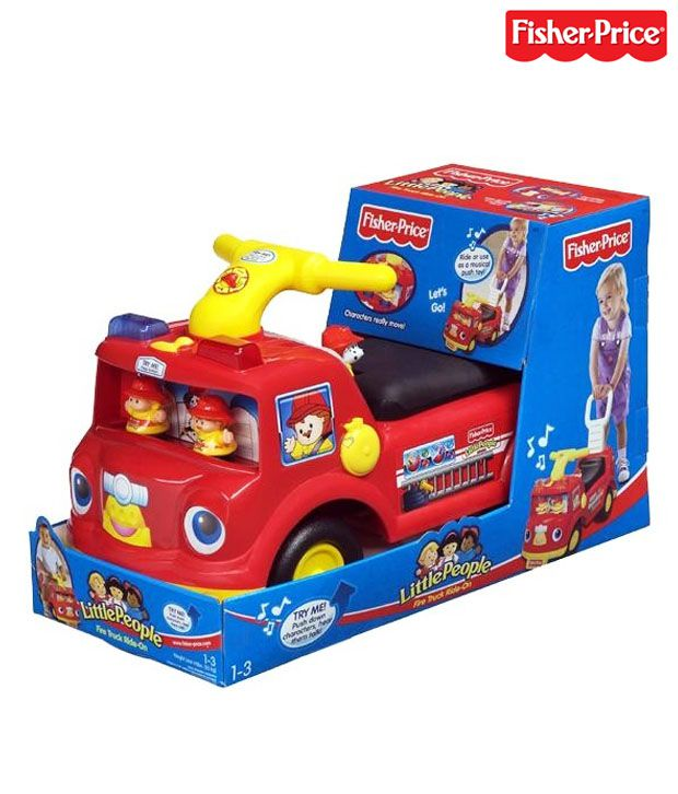 Fisher Price Little People Fire Truck Ride-On
