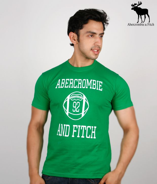 Abercrombie & Fitch Green T-Shirt