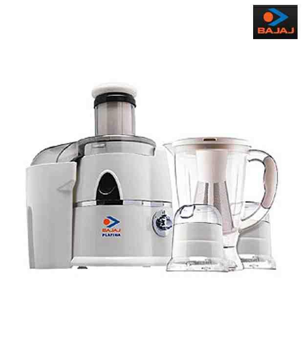 c1435e580f3 Bajaj Platini Juicer Mixer Grinder PX 65 J Price in India - Buy Bajaj  Platini Juicer Mixer Grinder PX 65 J Online on Snapdeal