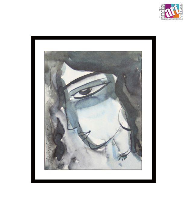 Shy by Abhijit Das (6 x 5 inches)