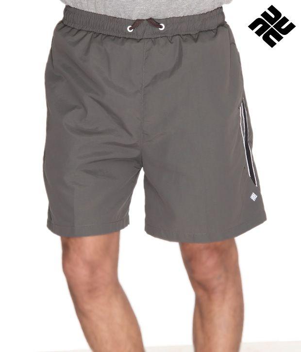 NU9 Sporty Grey Shorts