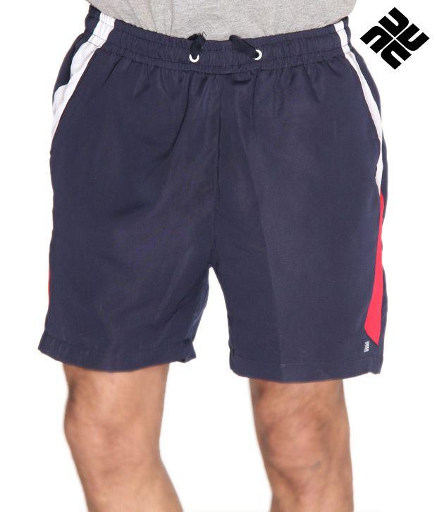 NU9 Smart Blue Shorts
