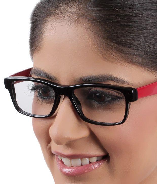 SD  Classy red & Black Eyewear