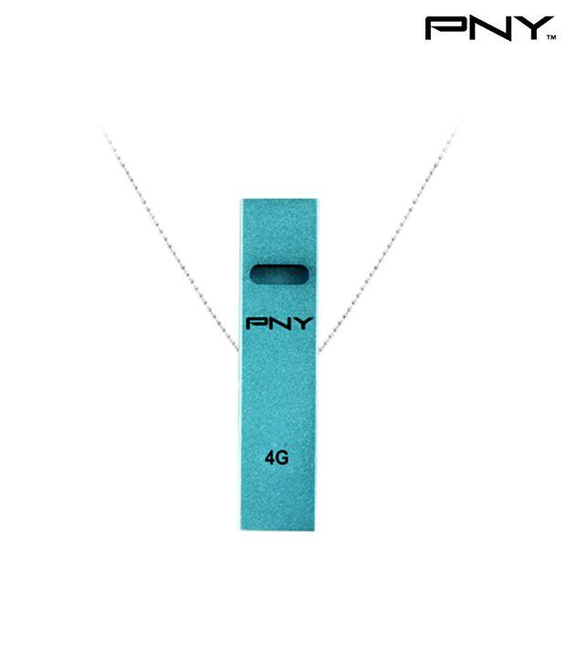 PNY USB Flash Drive Whistle Attache 4GB