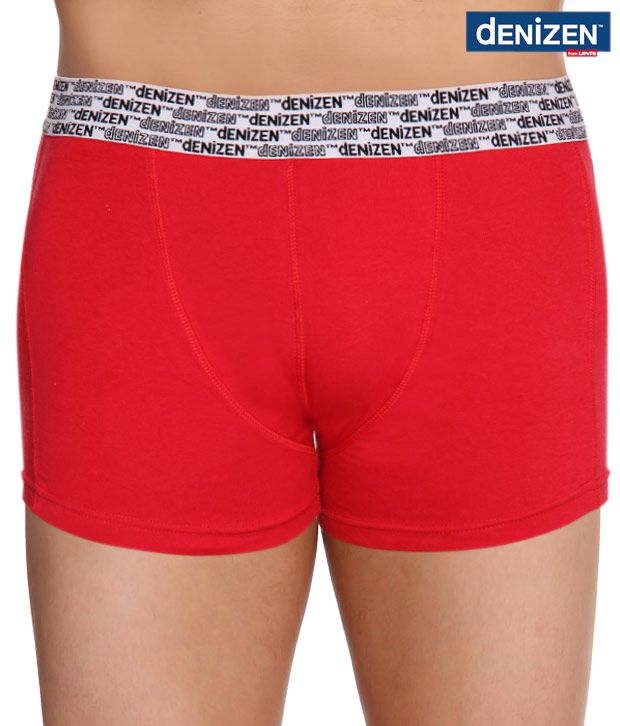Denizen Red Stretch Trunks