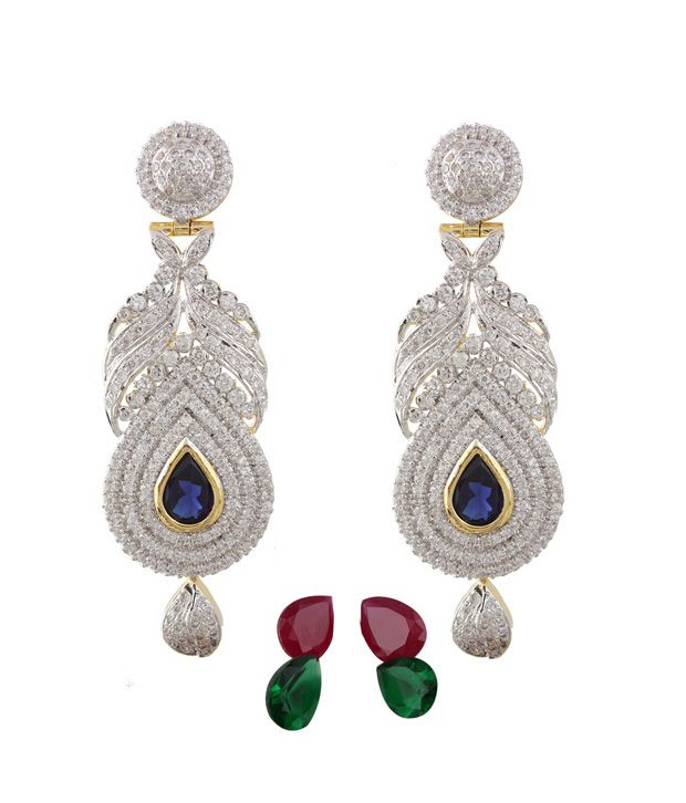 Styleos Magnificent Empress Earrings