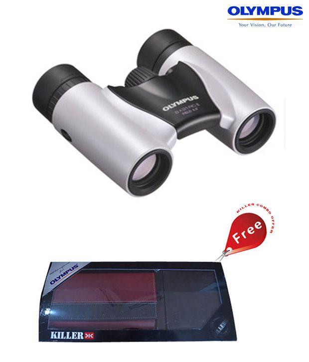 Olympus 8 x 21 RC II (Pearl White) Binocular