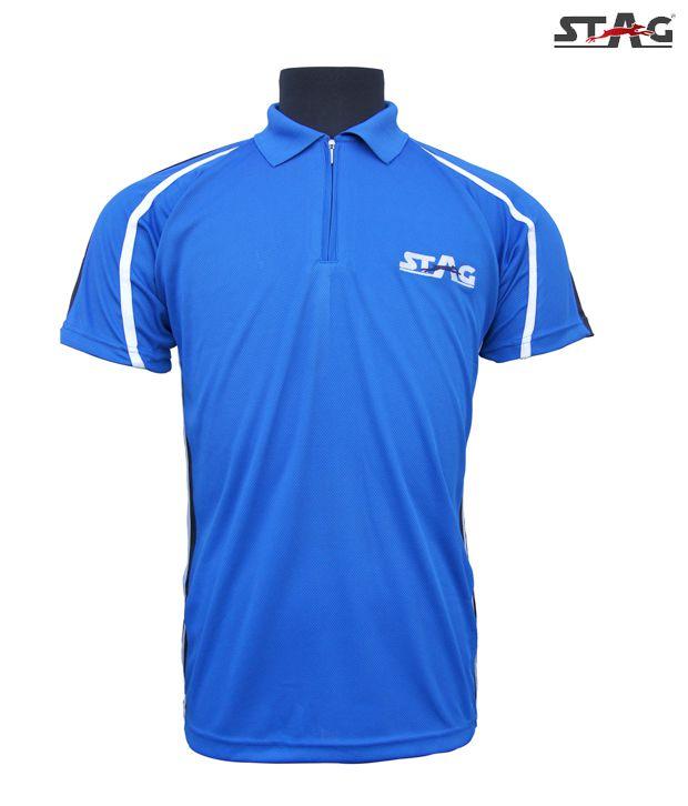 Stag Royal Blue Latin T-Shirt