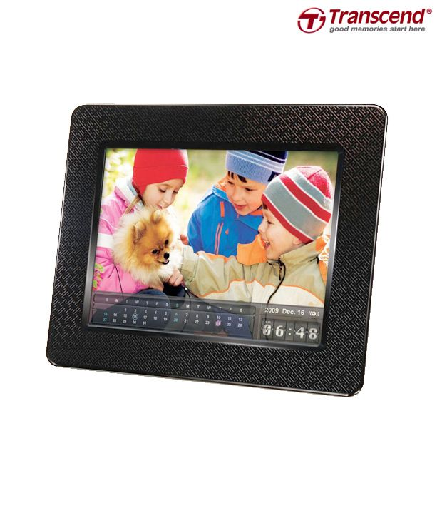 Transcend PF730 (2GB) Black Digital Photo Frame