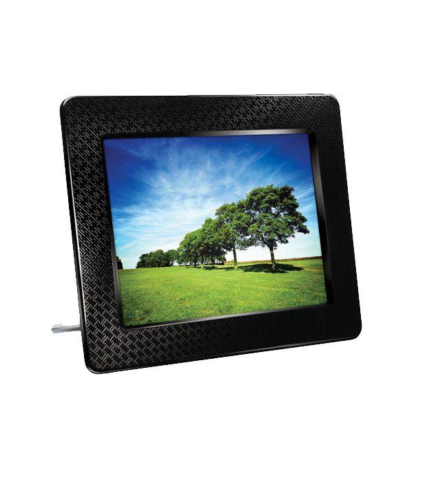 Transcend PF730 (2GB) Black Digital Photo Frame Price in India- Buy ...