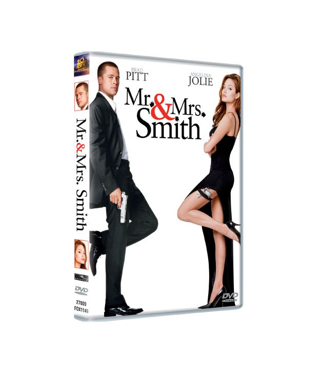 Mr. & Mrs. Smith (English) DVD
