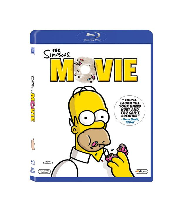 The Simpsons Movie English Blu Ray Buy Online At Best Price In India Snapdeal