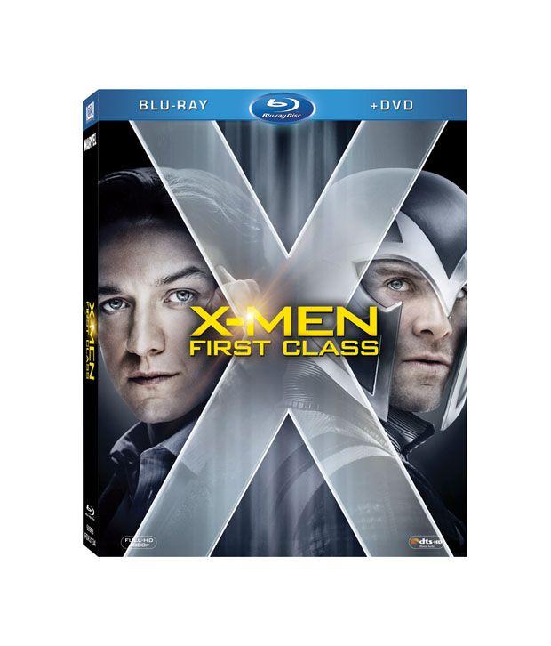 X-Men: First Class (English) Blu-ray