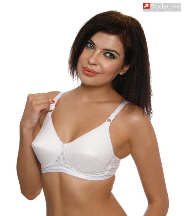 bb48ad64b64 Buy Bodycare White Padded Bra Online at Best Prices in India - Snapdeal