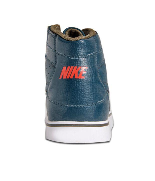 ... Nike Liteforce Mid SL Teal Blue Ankle Length Shoes ...