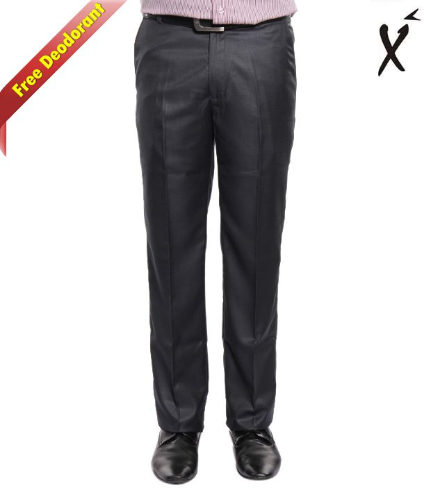 Xenia Ultra Grey Trouser With Free Deodorant