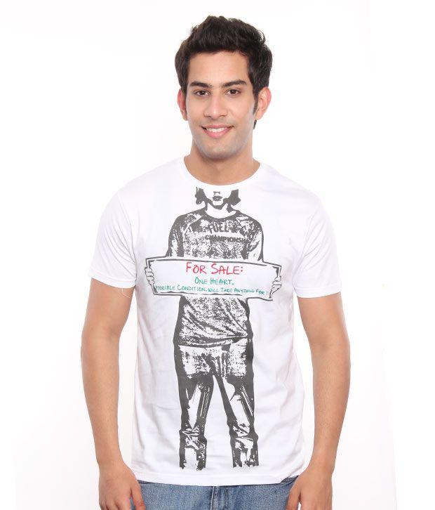 Free Spirit White For Sale Men's T-Shirt