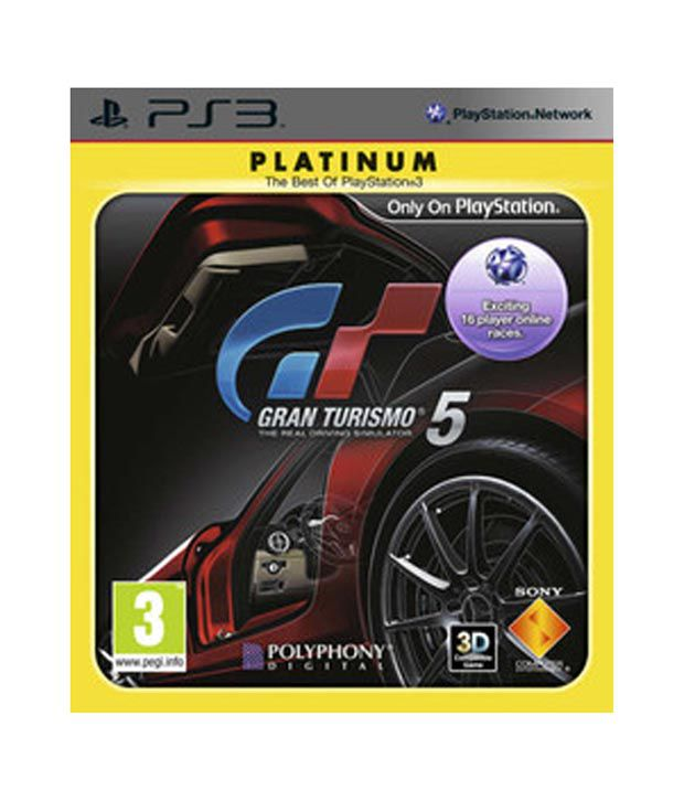buy grand turismo racing 5 ps3 online at best price in india snapdeal. Black Bedroom Furniture Sets. Home Design Ideas