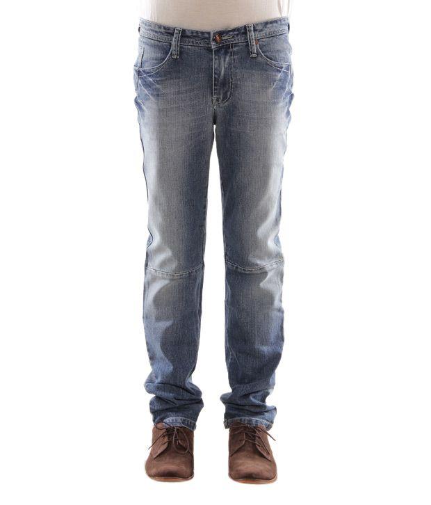 Zaab Smart Blue Men's Jeans