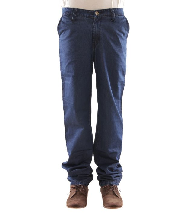 Zaab Dark Blue Men's Jeans