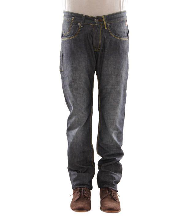 Zaab Black Men's Jeans