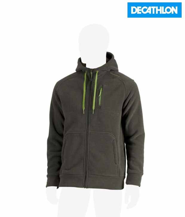 Quechua Forclaz 400 Khaki Hiking Fleece 8189222