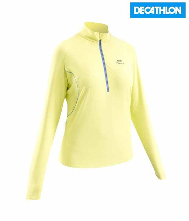 Kalenji Comfortable LSV Zip Women's Running Breathable Wear 8216175