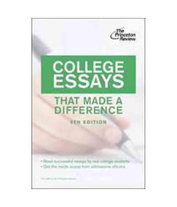 College Essay Writer