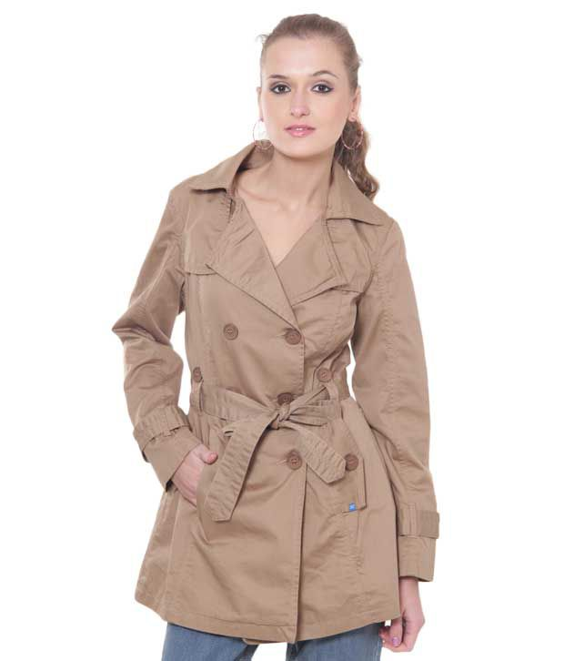 284b5a03f95bc Buy Numero Uno Pleasing Fawn Trench Coat Online at Best Prices in India -  Snapdeal