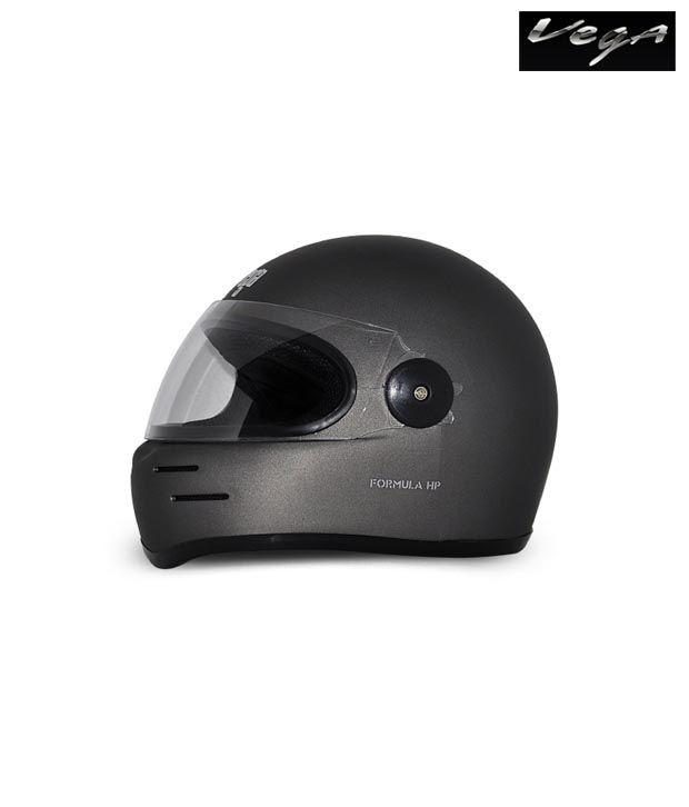 Vega Helmet - Formula HP (Dull Anthracite Grey)
