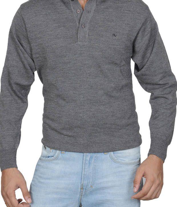 Monte Carlo Cozy Grey T-Shirt