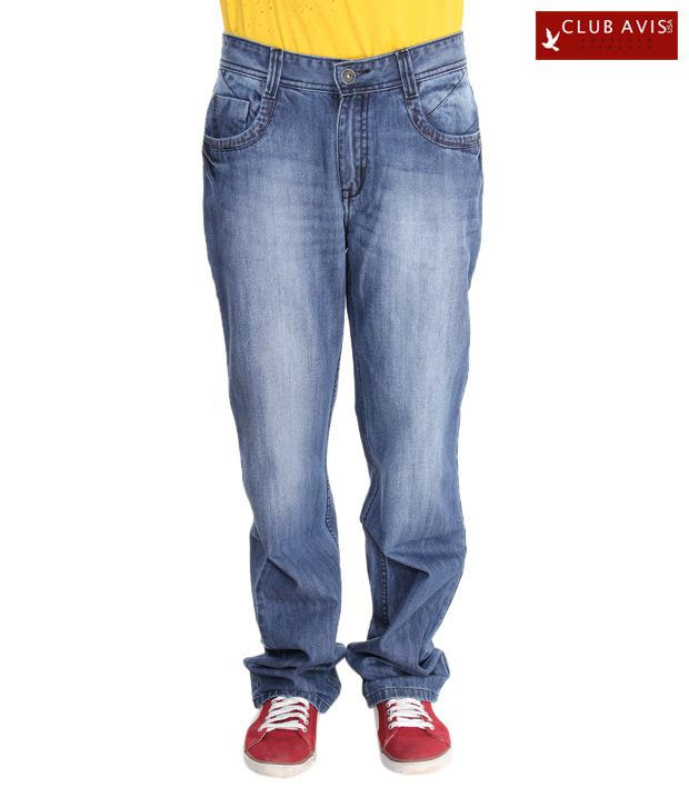 Club Avis USA Royal Blue Men's Jeans