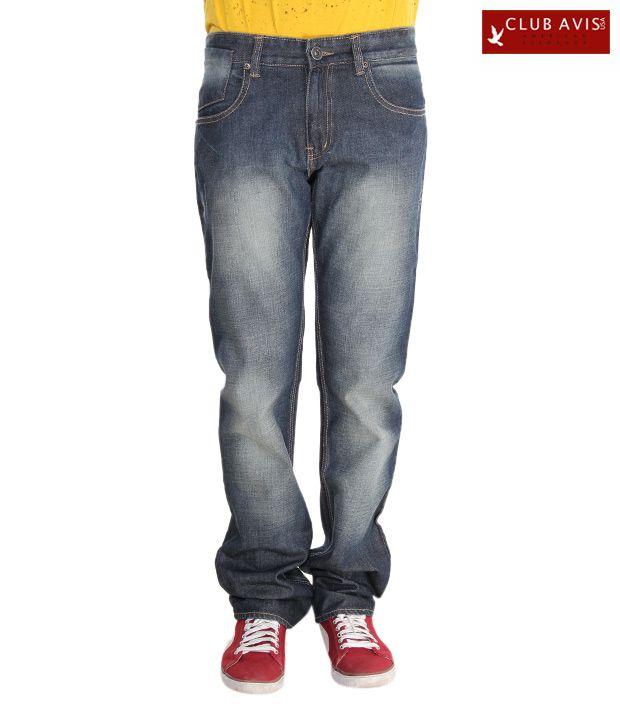 Club Avis USA Slate Grey Men's Jeans