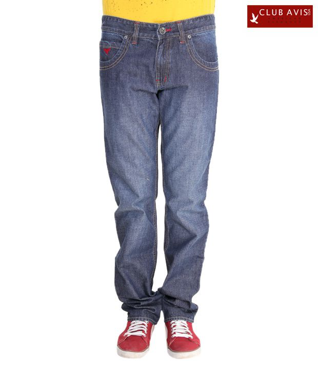 Club Avis USA Cool Blue Slim Fit Jeans