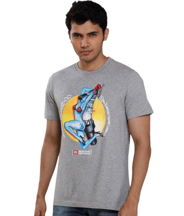 Ecko Classic Grey T-Shirt