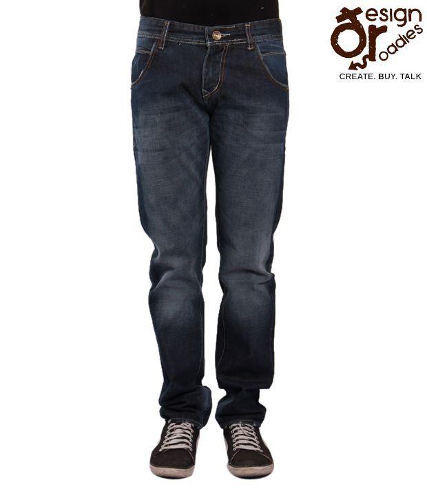 Design Roadies Blue Men's Jeans