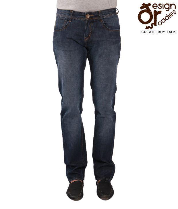 Design Roadies Dark Blue Jeans