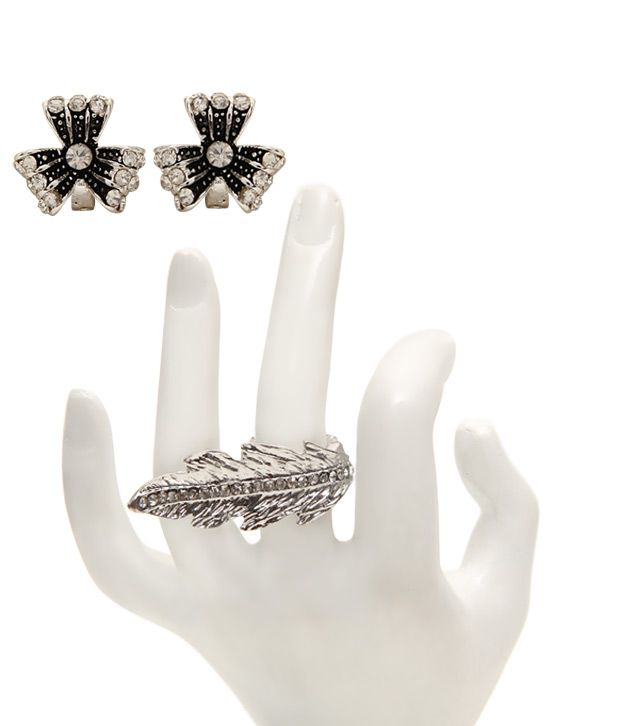 Youshine Modish Earrings & Ring Combo