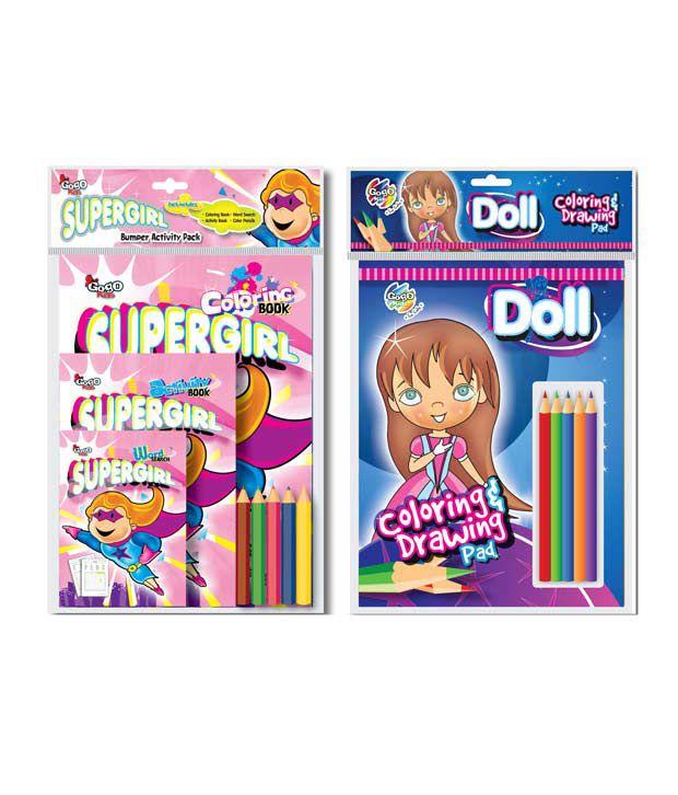 Gogo Kids Girl Power Pack Combo Pack (Pack of 2 sets)